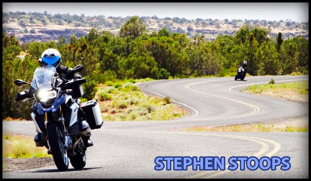 Stephen Stoops Rider of the Month