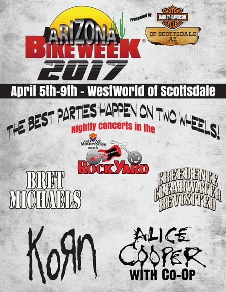 Arizona Bike Week Events at WestWorld
